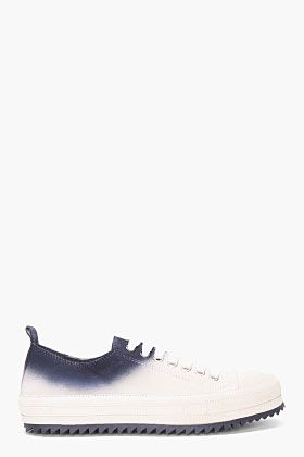 Ann Demeulemeester Taupe Ombre Sneakers for men