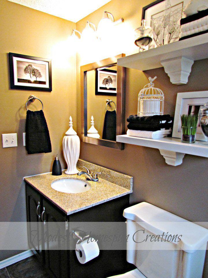 Best Shelves Over Toilet Ideas On Pinterest Diy Bathroom - Hanging bathroom shelves for small bathroom ideas