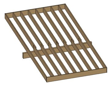 14 best images about floor joist on pinterest for Wood floor joist spacing
