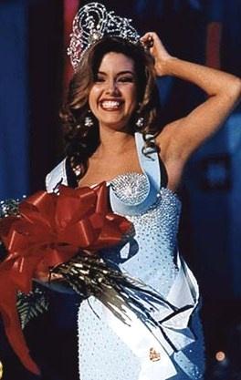 Alicia Machado - Miss UNIVERSO 1996 fue la cuarta venezolana en ganar el Miss Universo
