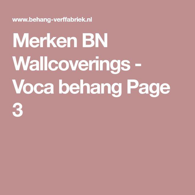 Merken BN Wallcoverings - Voca behang Page 3