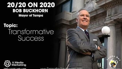 Big Debut For Mayor Bob Buckhorn's Tampa Bay Transformer Interviews! Learn about the Transformative Success in Tampa Bay. Watch Mayor Bob Buckhorn's new TBT videos. Thank you so much City of Tampa Government!! - A Media Marketing https://youtu.be/1WhwZQkW3oA  www.tampabaytransformers.com/bob-buckhorn  www.aMediaMarketing.com 813-933-2788