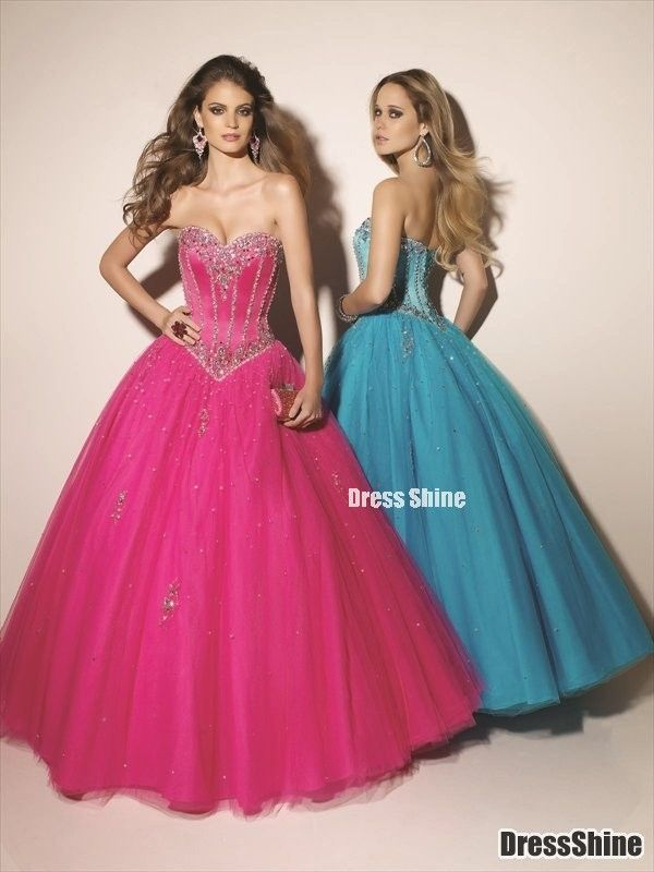 I like this - Sweetheart Floor Length Tulle with Beading and Sequins Quinceanera Dresses. Do you think I should buy it?