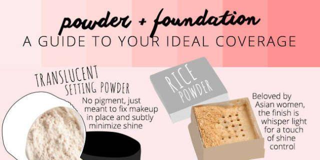 Powder + Foundation
