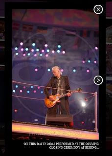 MAGE MUSIC: 2008 Jimmy Page - Beijing, China Summer Olympics closing ceremony