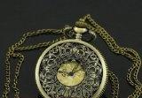 #Antique Brass Finish Filigree Steampunk Victorian Pocket #Watch Pendant $11.95