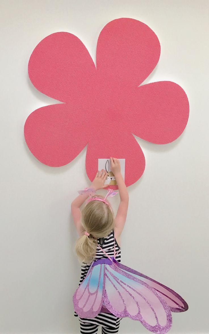Flower pinboard pinboard kids rugs custom design