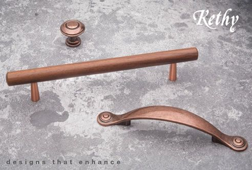 copper knobs and handles