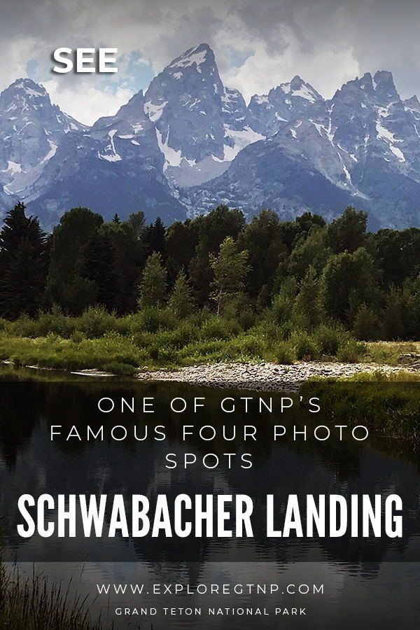 Schwabacher Landing – One of GTNP's Famous Four Photo Spots
