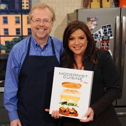 Today, Rachael Ray invited Modernist Cuisine at Home author Nathan Myhrvold on her show. Using [...]