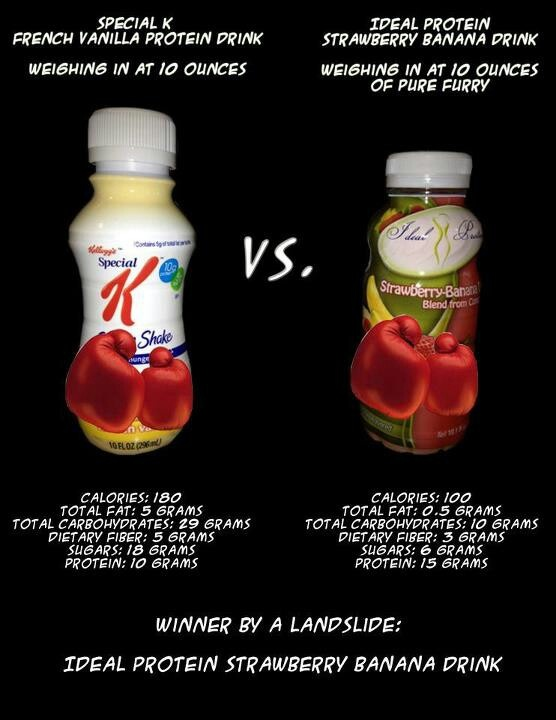 Ideal Protein Strawberry Banana Drink