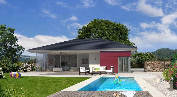 Bungalow mit oder ohne keller bauen mit streif domov for Bungalow mit keller bauen