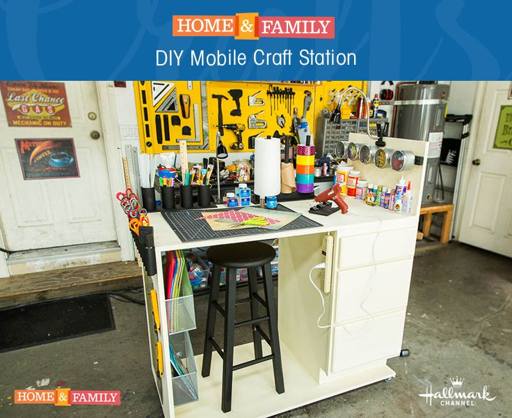 Mobile Craft Station Turn Your Entire Home Into A Craft Room With