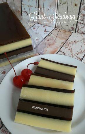 Penampakan puding yang satu ini miriiip banget dengan cake Lapis Surabaya, jadilah puding ini diberi nama PUDING LAPIS SURABAYA. Puding...