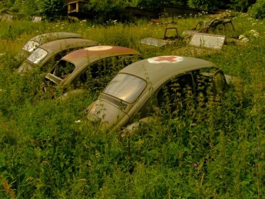 Military Junkyards Graveyards And Scrap Vehicles Tanks