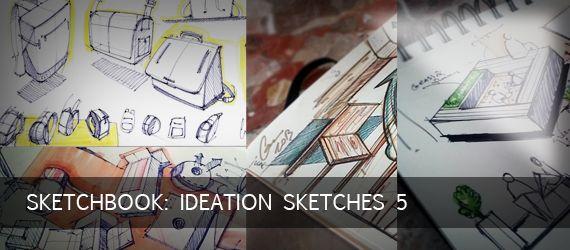 Sketchbook: Ideation Sketches 5