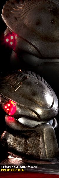 Temple Guard Mask Life-Size Prop Replica $329.99 Click on picture link for info and to pre-order!!!