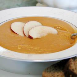 Creamy Butternut Squash With Cinnamon Soup Allrecipes.com