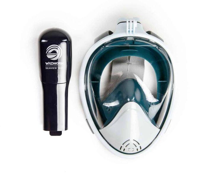 WildHorn Full Face Snorkel Mask #GiftIdeas #UnusualGifts #UniqueGifts #BestGiftIdeas #CoolGiftIdeas #ThingsIDesire