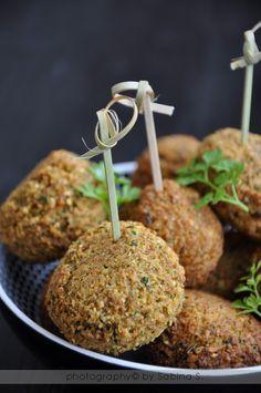 Due bionde in cucina: Falafel di ceci