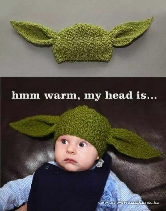 Warm,my head is...