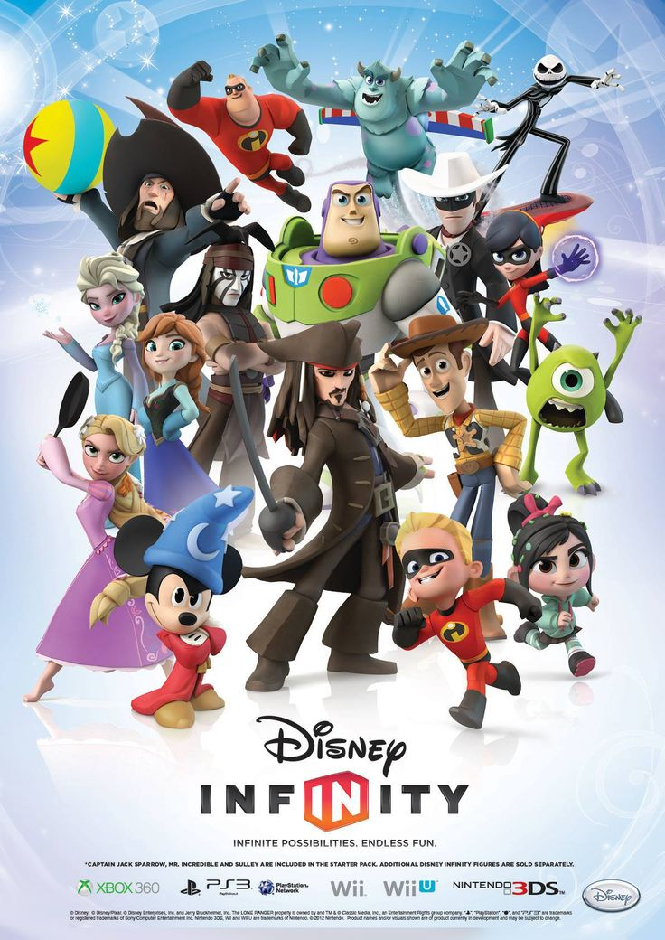 The DisneyInfinity gang's all here!
