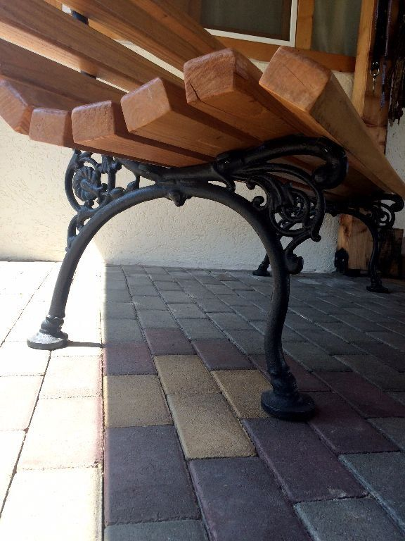 23 Best Images About Cast Iron Bench Ends On Pinterest