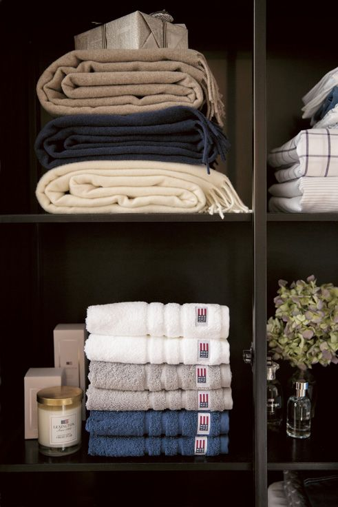 Some perfect soft Lexington terry towels. You just can't get enough!