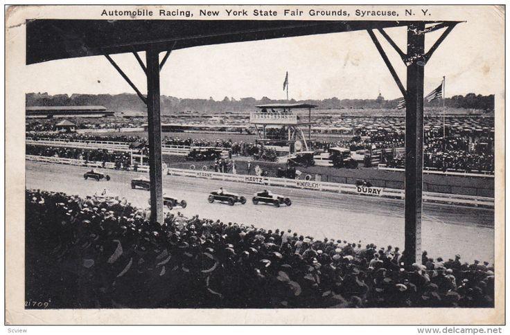SYRACUSE, New York; Automobile Racing, New York State Fair Grounds, 10-20s