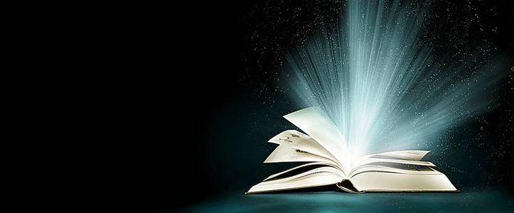есть фантазии магия была открыта книга, книги, черный фон, открыть книгу, Изображение на заднем плане