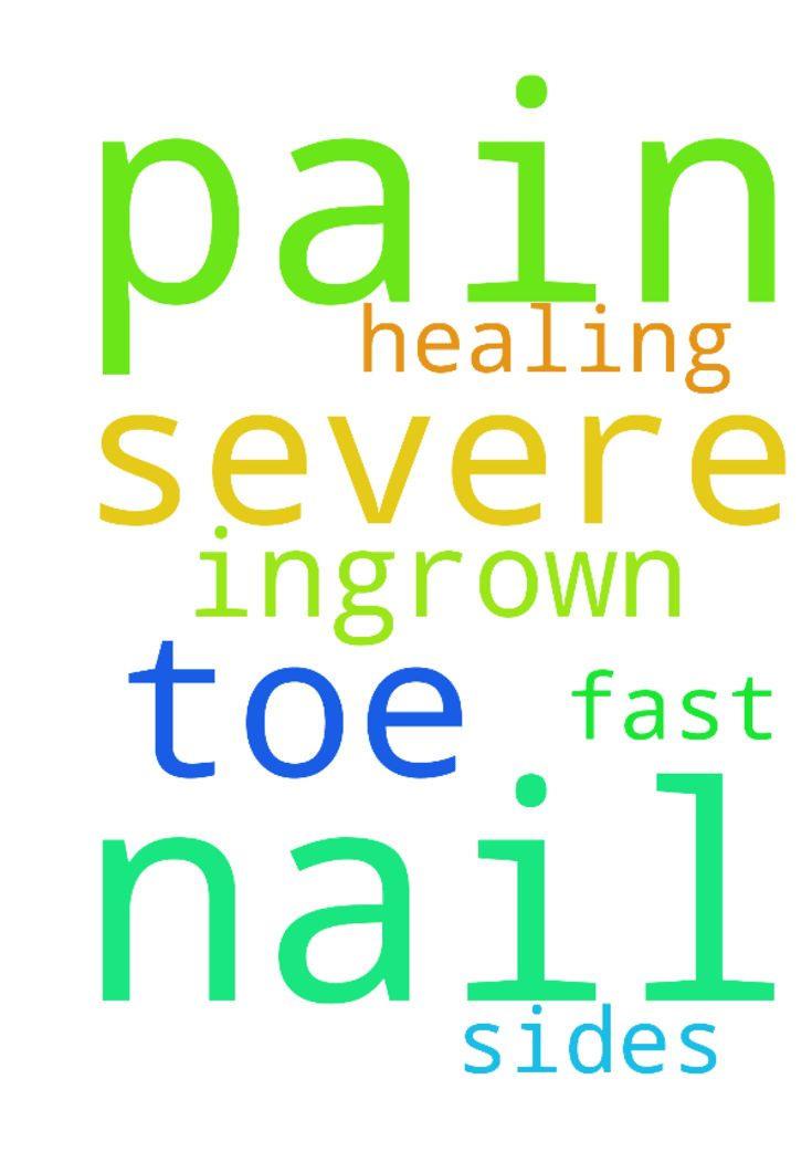 My toe is in severe pain from an ingrown nail on both - My toe is in severe pain from an ingrown nail on both sides. Please pray for fast healing. Posted at: https://prayerrequest.com/t/LFX #pray #prayer #request #prayerrequest