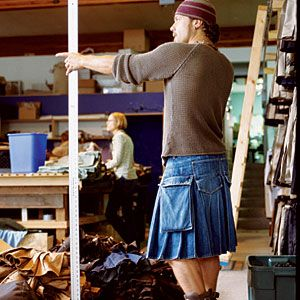 Utilikilts shop - Seattle, WA