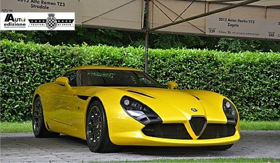Alfa Romeo, ok geel maar zeker bruut!