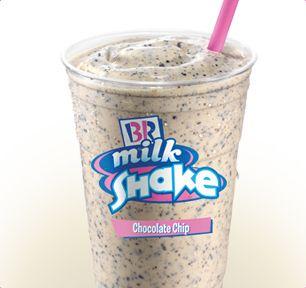 Baskin-Robbins | Chocolate Chip Milkshake -- My absolute favorite Baskin Robbins item!