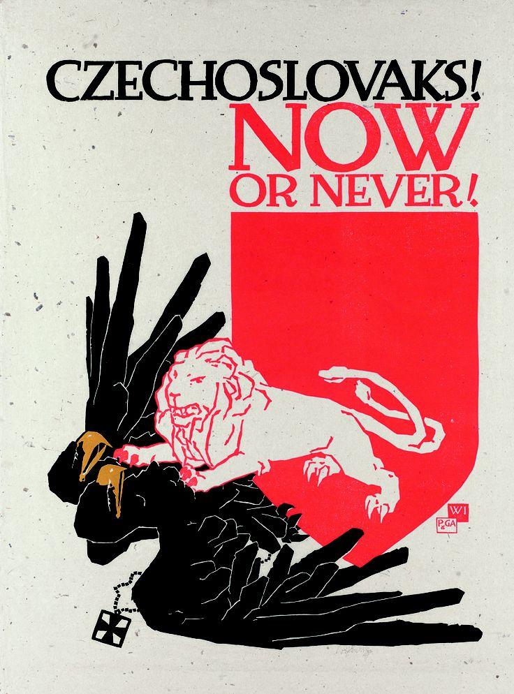 Vojtěch Preissig - Czechoslovaks! Now or Never