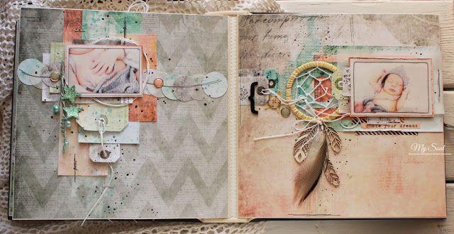 My Soul - творческая мастерская Галины Проценко: Альбом про мечты, звезды и ловцы снов