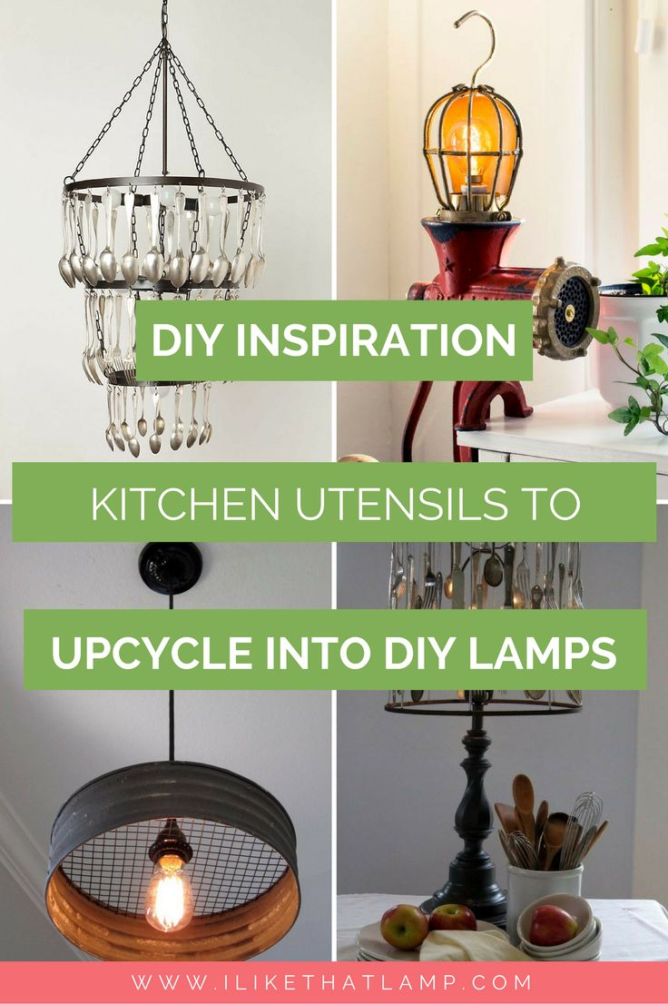 10 Kitchen Utensils to Upcycle into a
