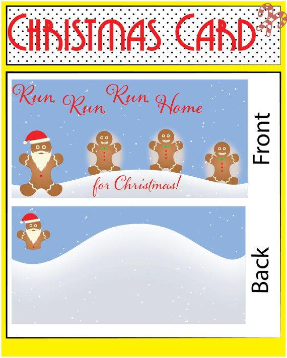 This Christmas card is cute and fun and is sure to put a smile on everyones…