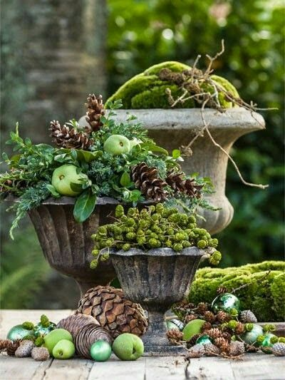 Seasonal Urns...