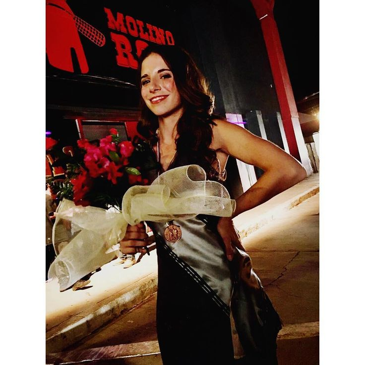 Tere en Miss Naco 2017. Amo mi trabajo  #RunCoyoteRun