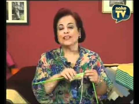 Örgü Yelek Kol Kesme Tekniği - YouTube