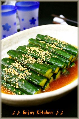 Cucumber Chinese pickles ポリポリ止まらない!きゅうりの中華風漬物 by EnjoyKitchen ...