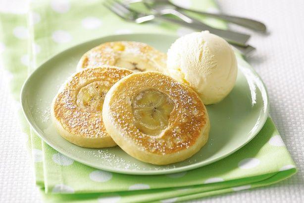 Coconut Banana Pikelets Recipe - Taste.com.au