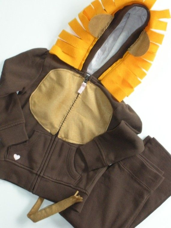 Lion costume kit by DIYcostumes on Etsy
