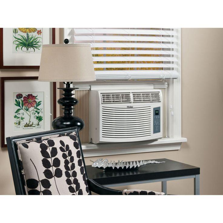 Haier HWE08XCR 8000 BTU Window-Mounted Air Conditioner - HWE08XCR