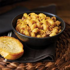 Cheeseburger Pasta using the NEW Microwave Pressure Cooker. Prep and cook in 20 minutes.