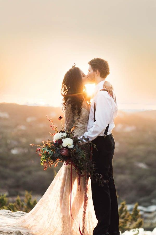 Boho styling meets Texas charm in this wedding inspiration from Holly Kringer Photography