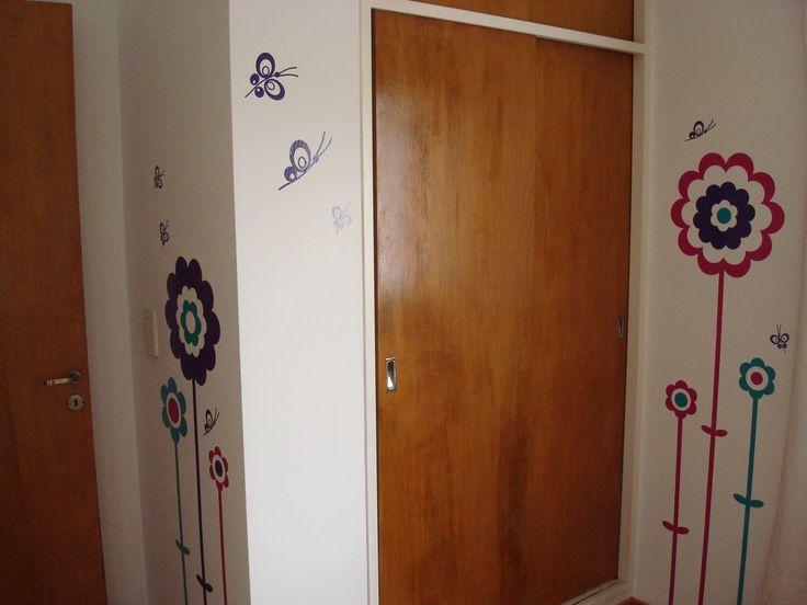 Vinilos cuarto de nena