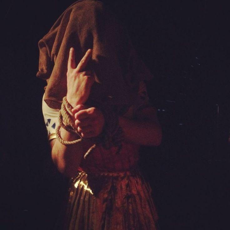 Opera Domani 2014, Aida - backstage