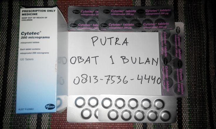 Jual obat aborsi 1 bulan cytotec misoprostol 200mcg.Solusi aman dan efektif menyelesaikan masalah terlambat datang bulan.Obat aborsi bebas efek samping dan tanpa rasa sakit berlebih.Melayani pengiriman ke seluruh kota di Indonesia.FREE ONGKIR !! Konsultasi,harga dan pemesanan hubungi : (PUTRA) Hp : 0813-7536-4440 Pin BB : 3246C2C5 http://caraaborsi.net/obat-aborsi-1-bulan/